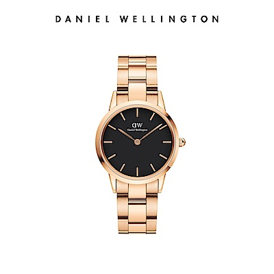 【Daniel Wellington】官方直營 Iconic Link 32mm精鋼錶-特調玫瑰金 DW手錶 女錶
