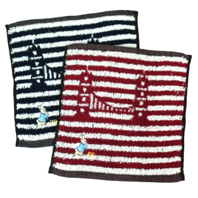 比得兔精繡手帕巾-PR20112/PR20113-MT-12入