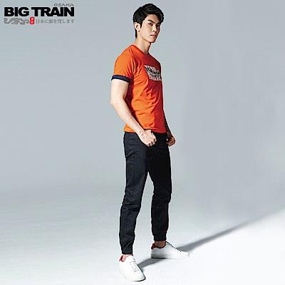 BigTrain吸濕快乾仿丹寧束口褲-男-黑色