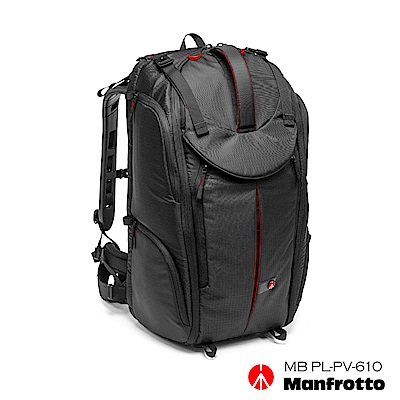 Manfrotto Pro-V-610 PL Video Backpack旗艦級獵豹雙肩包