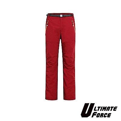 Ultimate Force「衝鋒」女款速乾工作褲-紅色