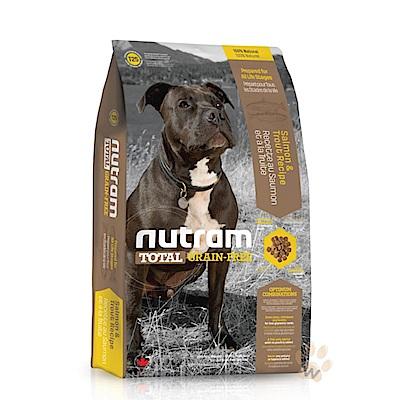 Nutram紐頓 無穀全能 T25 潔牙犬鮭魚配方 11.34KG【2136】