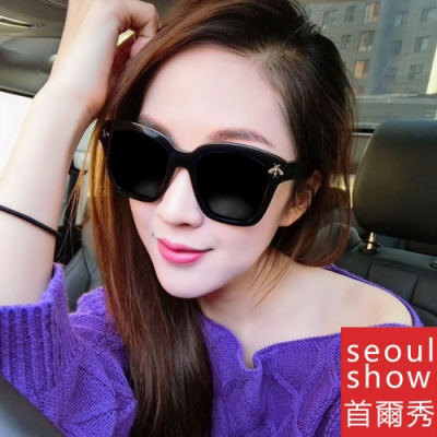 seoul show首爾秀 G牌小蜜蜂款太陽眼鏡UV400墨鏡 5167