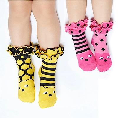 WHY AND 1/2 mini 荷葉短襪 多色可選