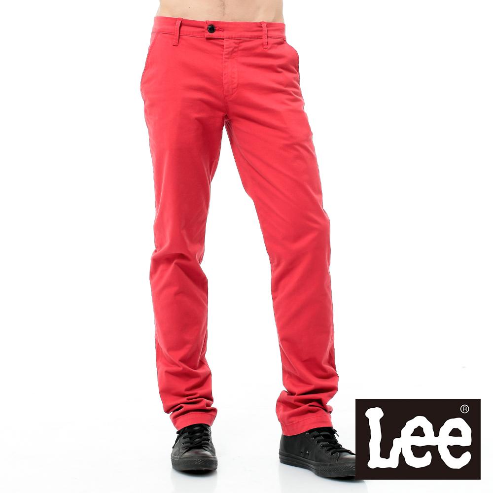 Lee 中腰標準直筒休閒褲 @ Y!購物