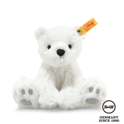 STEIFF德國金耳釦泰迪熊   Lasse Polar Bear  北極熊 18cm