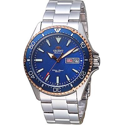 ORIENT東方錶 200米運動潛水錶(RA-AA0007A)-藍