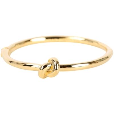 Kate Spade sailors knot 金色同心結金屬手環