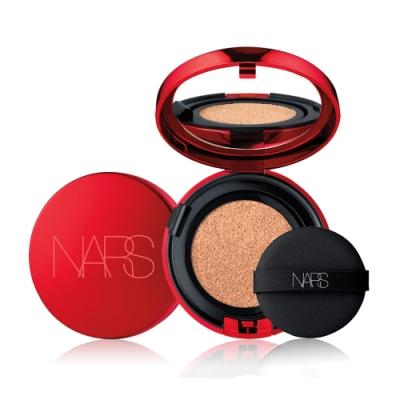 NARS 裸光奇肌氣墊粉餅 #SOWOL 12g 圓形盒+蕊(流金緋紅版)