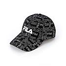 FILA 時尚 LOGO 帽-黑 HTT-1101-BK