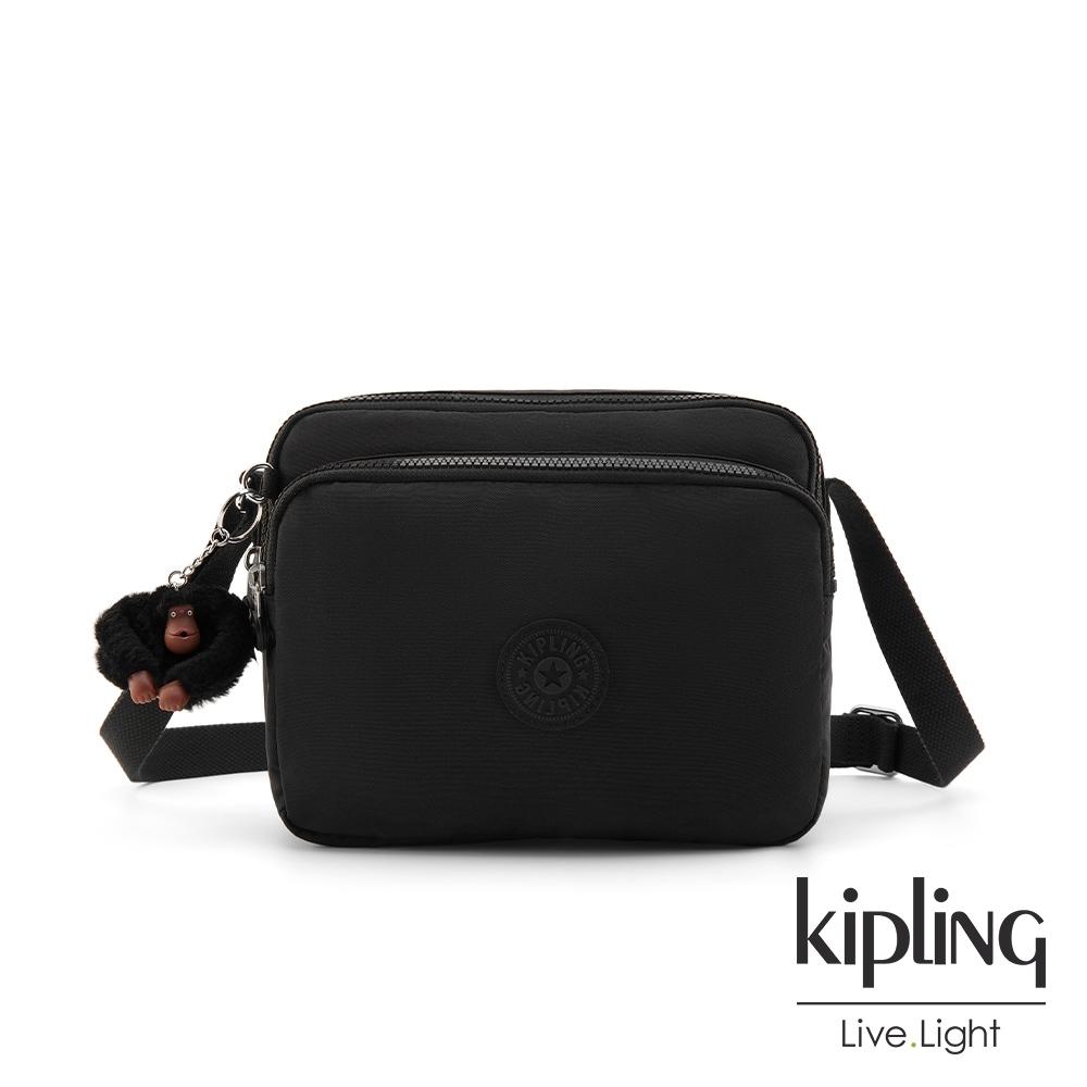 Kipling 質感黑手提側背包-SHAMANE