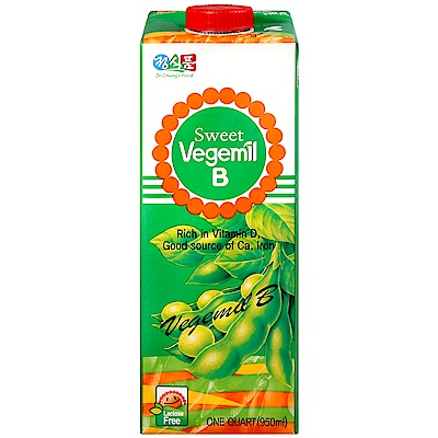 Vegemil 活力豆乳[含糖](950ml)