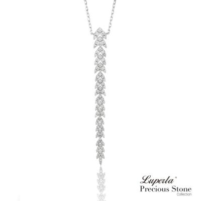 大東山珠寶 星空流星雨 璀璨晶鑽純銀項鍊