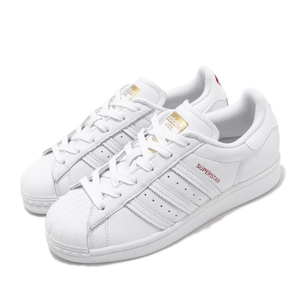 adidas 休閒鞋 Superstar 復古 愛心 女鞋