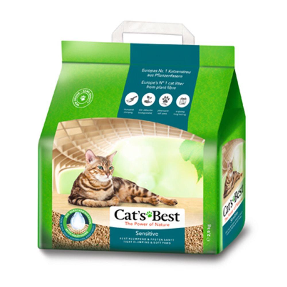 德國凱優 CAT S BEST 黑標 強效除臭 凝結木屑砂 8L (2.9kg)