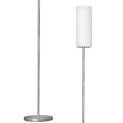 EGLO歐風燈飾 歐風白玻璃燈罩立燈/落地燈(不含燈泡)
