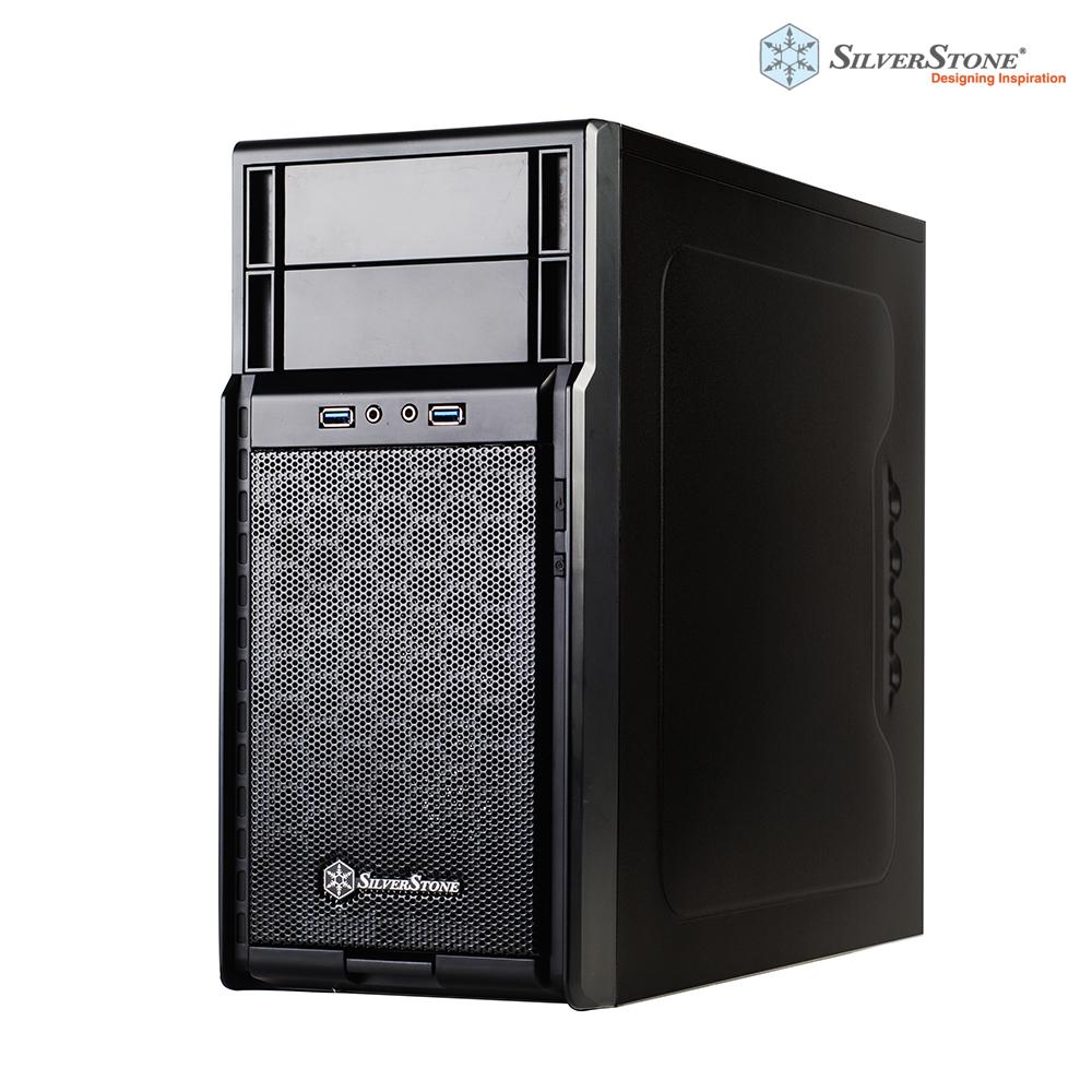 銀欣 SilverStone 精準系列 PS08B 黑化機殼