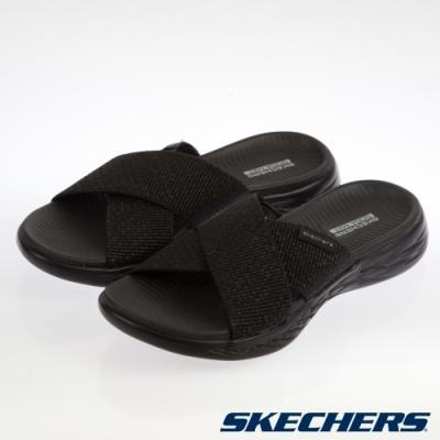 SKECHERS  女健走系列 拖鞋 ON THE GO 600-16259BBK