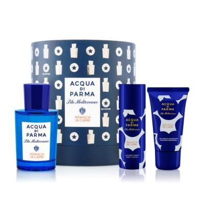 ACQUA DI PARMA 藍色地中海系列卡普里島橙聖誕香水禮盒