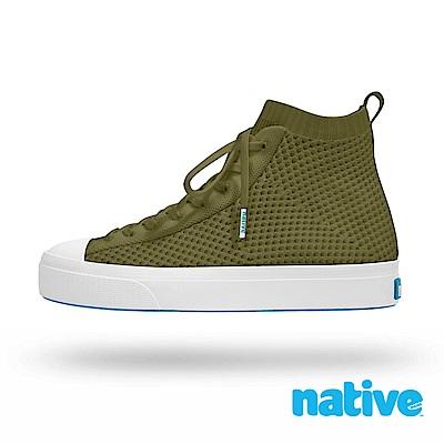 native JEFFERSON 2.0 高筒男/女鞋-率性綠