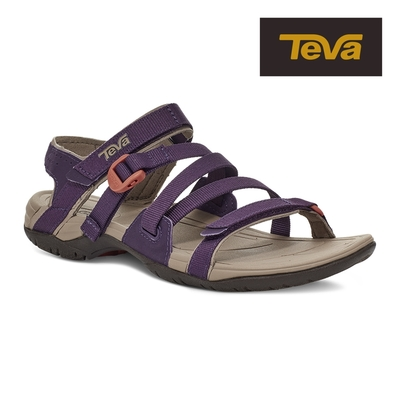 【TEVA】原廠貨 女 Ascona Sport WEB 運動休閒多功能織帶涼鞋/雨鞋/水鞋(紫色-TV1116647PPNN)