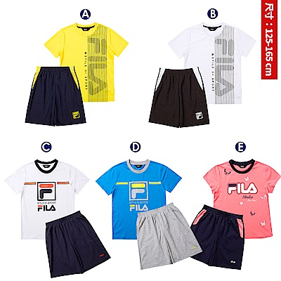 FILA KIDS 童裝短袖衣褲套裝/洋裝(6Y~15Y以上,款式/尺寸任選)