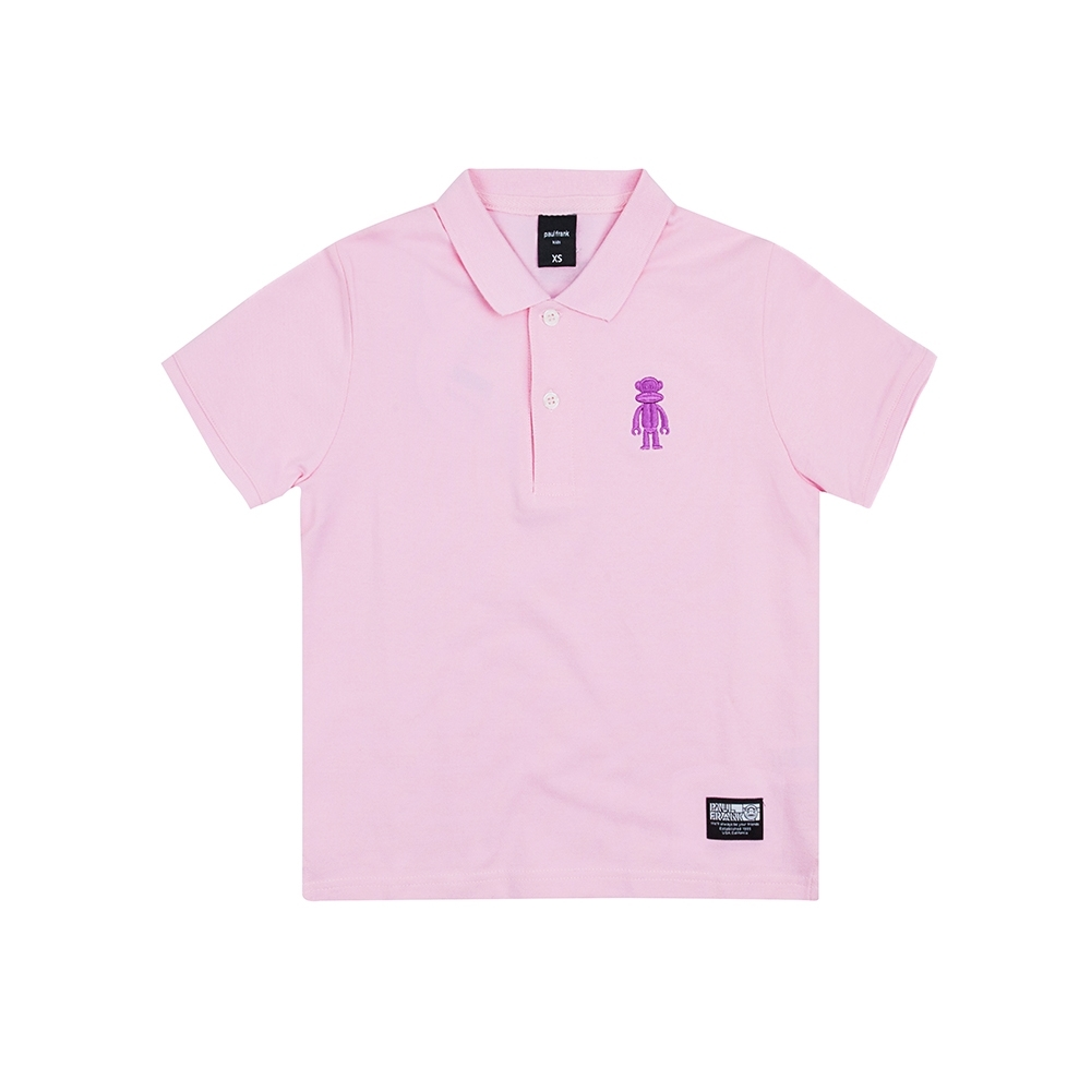 paul frank 經典polo衫-淺粉紅(童)