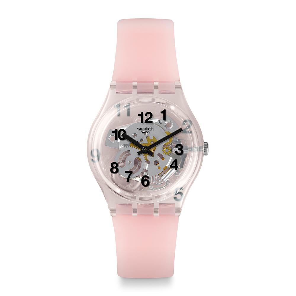 Swatch  Listen to me系列 PINK BOARD粉紅果凍