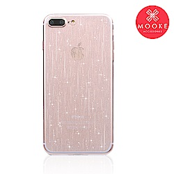 Mooke iPhone 7 /8  雨絲保護殼-透明
