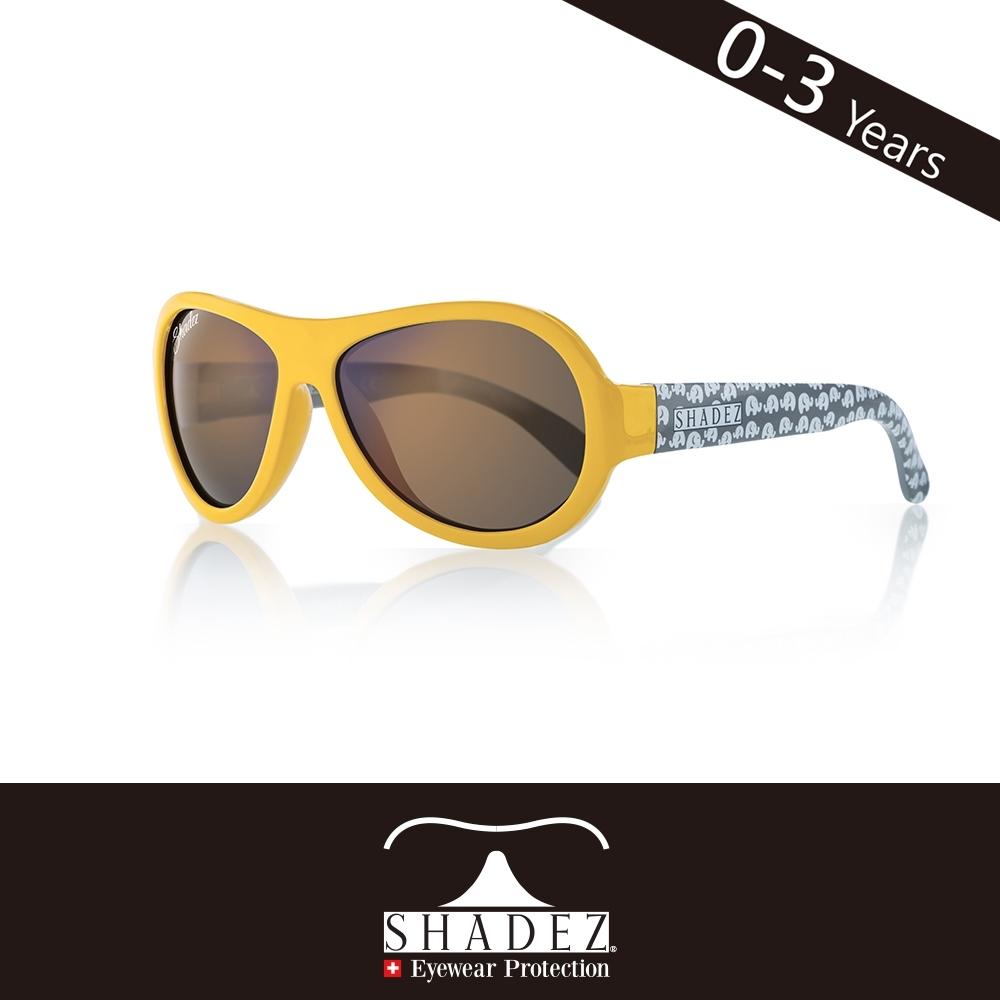瑞士SHADEZ兒童太陽眼鏡SHZ-59(年齡0-3)--黃黑大象