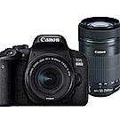 CANON EOS 800D+18-55mm+55-250mm STM 雙鏡組*(平輸)