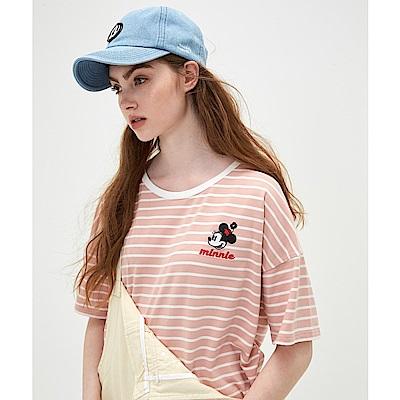 CACO-米妮款條紋上衣(兩色)-女【TDI011】