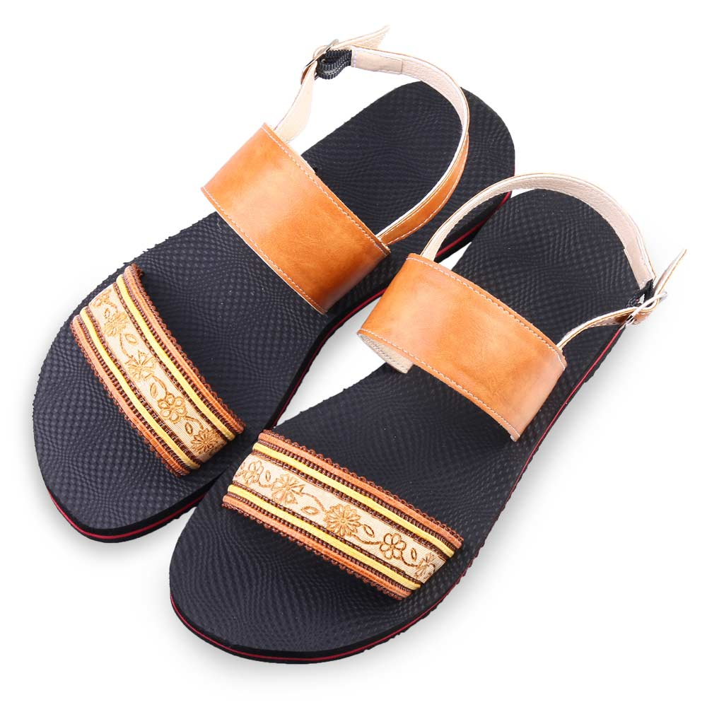TTSNAP涼鞋-MIT夏日限定織帶平底鞋 咖