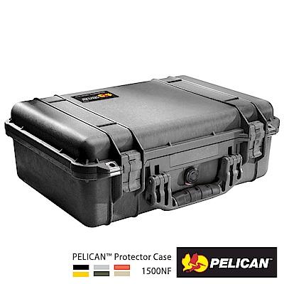 美國 PELICAN 1500NF 氣密箱-空箱(黑)