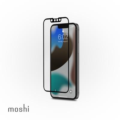 Moshi iVisor AG 防眩光螢幕保護貼 黑 (透明/霧面防眩光) for iPhone 13 mini