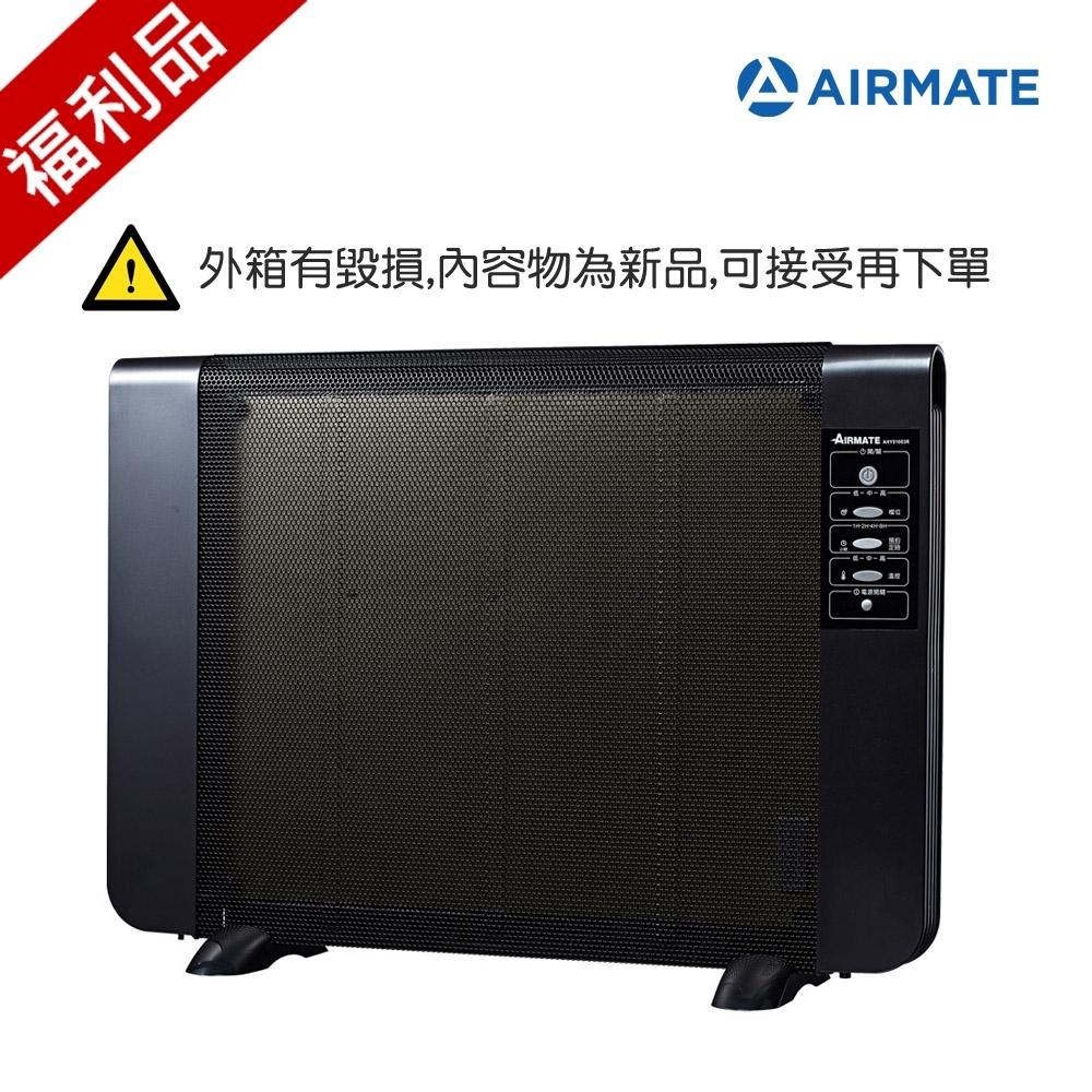 福利品 AIRMATE艾美特 遙控電膜式電暖器 AHY81003R