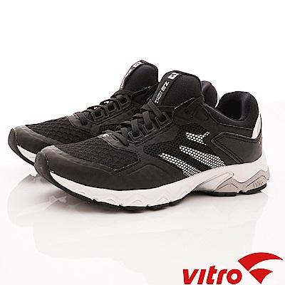 Vitro韓國專業運動品牌-EZ LIGHT-BLK頂級專業慢跑鞋-黑(女)