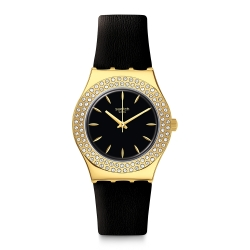 Swatch I Medium Standard 金屬系列手錶 黃金年代-33mm