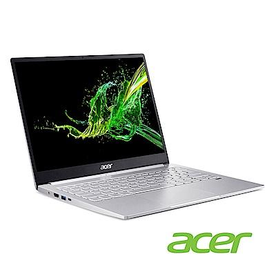 Acer SF313-52G-52A4 13吋輕薄筆電(i5-1035G4/MX350/8G/512G SSD/Swift 3/銀)