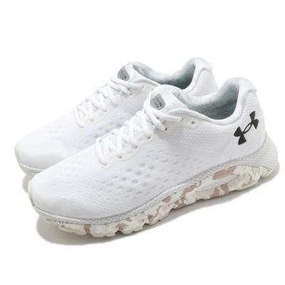 UA 慢跑鞋 HOVR Infinite 3 運動 男鞋 輕量 透氣 舒適 避震 路跑 健身 白 黑 3024001101