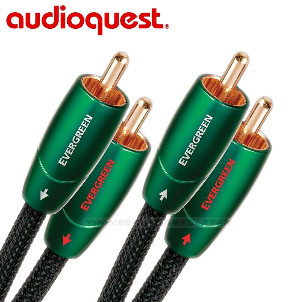 美國 Audioquest Evergreen 訊號線 (RCA-RCA)  - 1.5M
