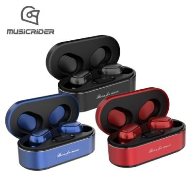 音樂騎士 MusicRIDER 真無線藍牙耳機 T11 (LED數字電量顯示)