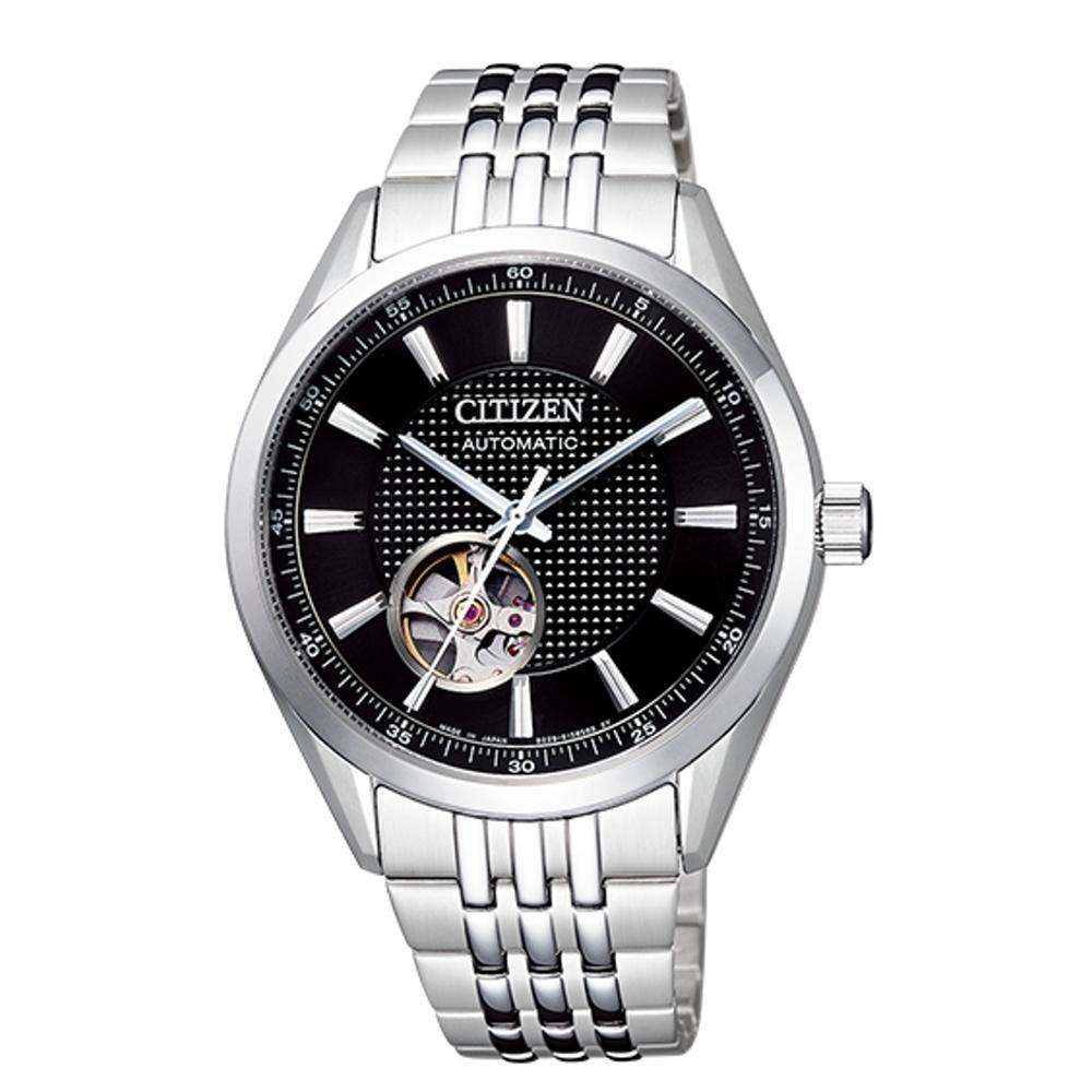 CITIZEN星辰 開芯鏤空時尚機械腕錶(NH9110-81E) @ Y!購物
