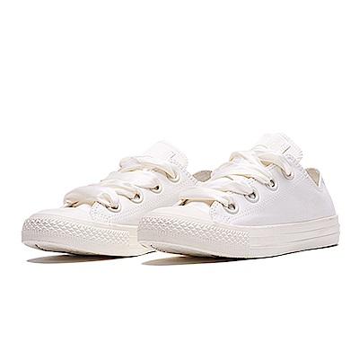 CONVERSE-女緞帶鞋560659C-珍珠白