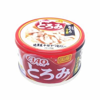 日本 CIAO 多樂米濃湯罐 A-42 雞肉&鮪魚&柴魚片 80g