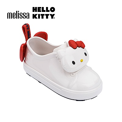 Melissa X HELLO KITTY 寶寶休閒鞋-白色