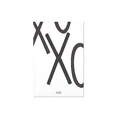 Dailylike 英文字母插畫明信片-24 X