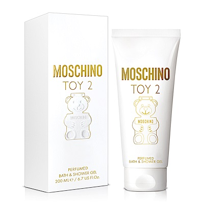 MOSCHINO 熊芯未泯2女性香浴凝露200ml