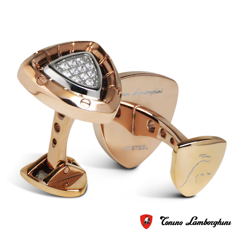 藍寶堅尼Tonino Lamborghini SPYDER GOLD系列 袖釦(金)
