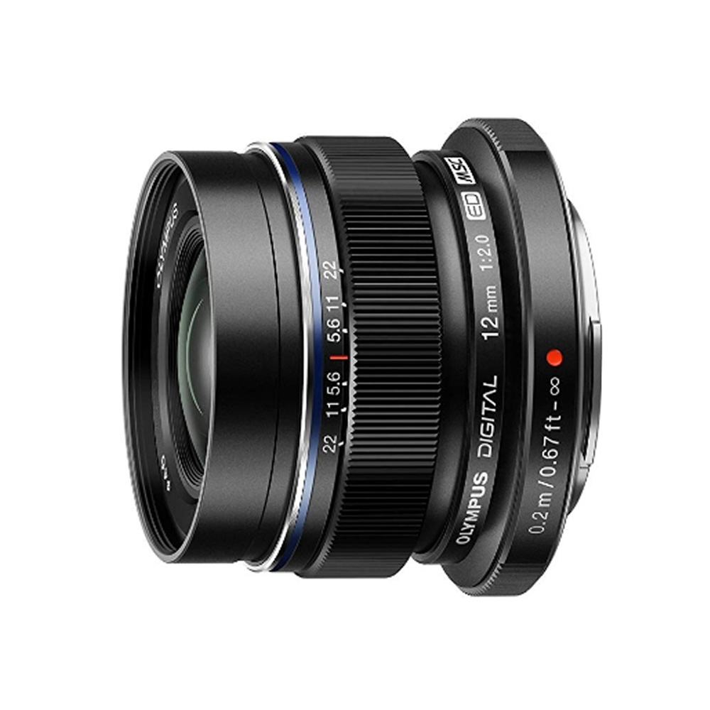 OLYMPUS M.ZUIKO DIGITAL ED 12mm F2.0 (公司貨) 黑色 product image 1